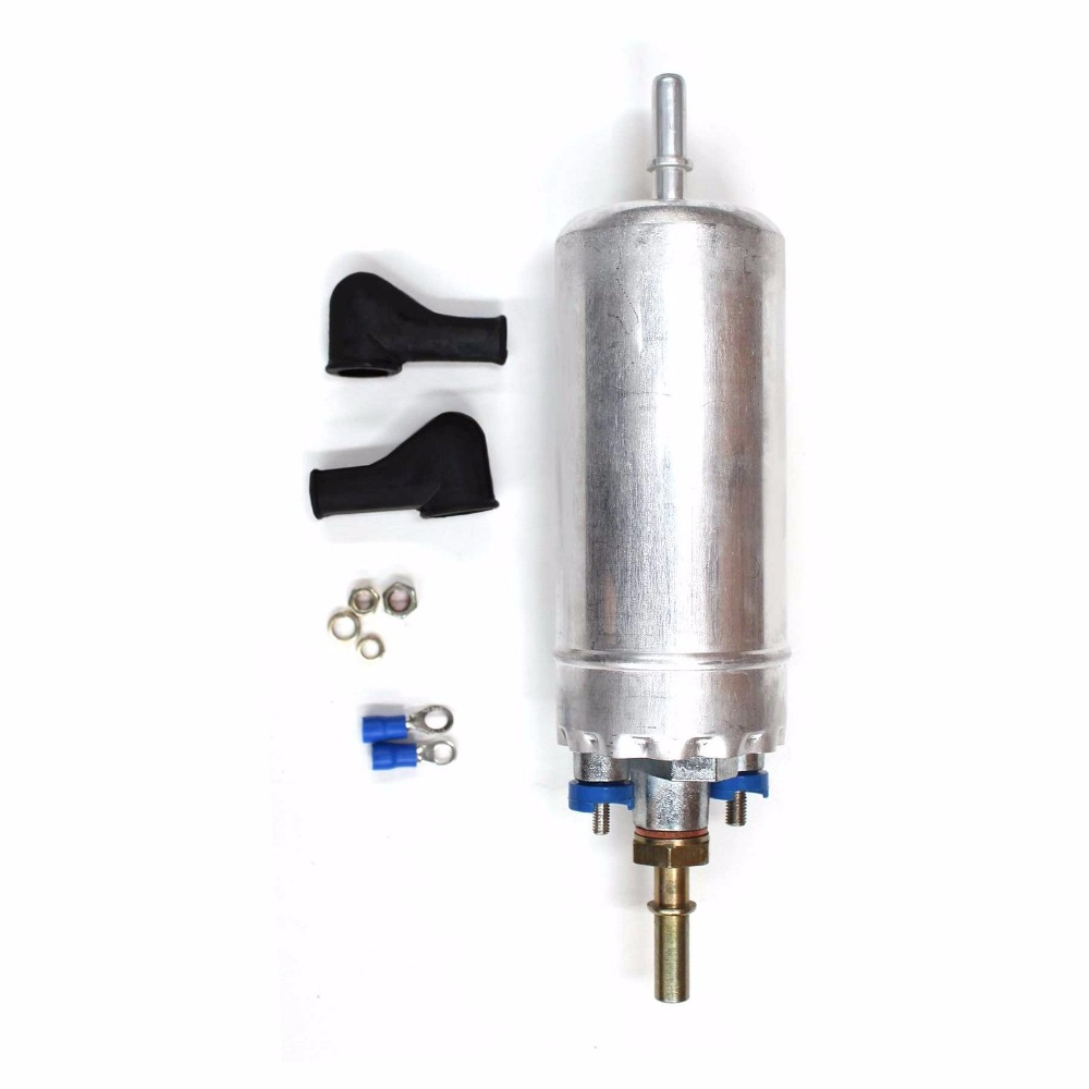 12V New Electric Externally Mount Inline Fuel Pump Installation Kit For FORD MERKUR E2000