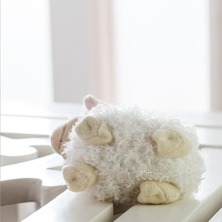 Mini Cute Babys Gift Stuffed Animal Toy High Quality Plush Sheep Toy with Sound Baa