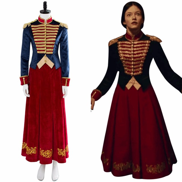 2018 The Nutcracker And The Four Realms Clara Cosplay Costume Halloween  Carnival Costume Custom Made 4cf584484252