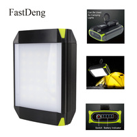 30 LED Camping Light Flasher Mobile Power Bank Flashlight USB Port Camping Tent Light Lantern Outdoor Portable Hanging Lamp