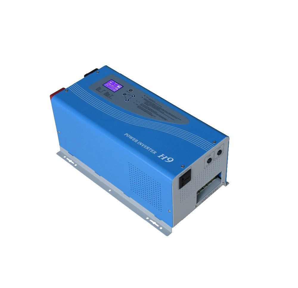 DECEN@ 24V 2000W Surge Power 4000W Off grid Pure Sine Wave Power Inverter Connect Rechargeable Battery With Charging Function