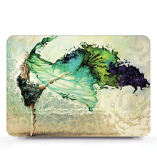 Tablet Shell Pouch Color Printing Laptop Shell Hard Case Cover Only For Apple Macbook 12 inch Model : A1534 A1931 (2015-2018)