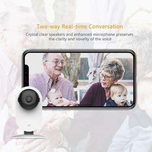 Image 4 - 2 pcs 이순신 720 p 홈 카메라 hd 비디오 모니터 ip 무선 네트워크 감시 보안 카메라 나이트 비전 모션 감지 cctv