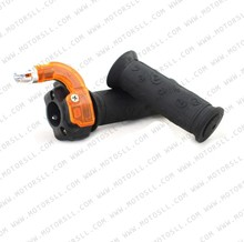 Handle Grips Throttle Grip Mini Moto Two Stroke 43cc 47cc 49cc Kids Mini Pocket Bike Dirt