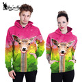 [You're My Secret] Women Hoodies Sweatshirts Lovely Giraffe 3d Print Lovers Valentine Gift Sudaderas Mujer Female Supreme Hooded