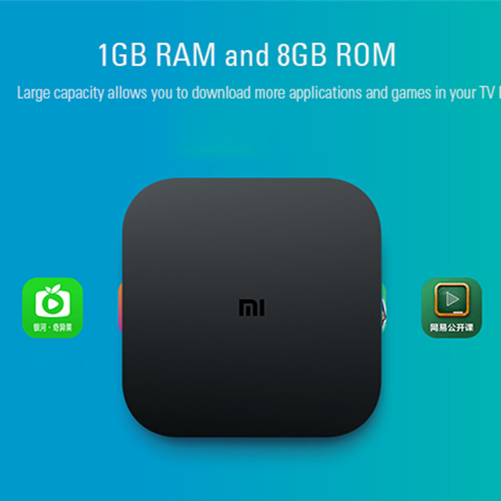 Original Xiaomi Mi4C Patchwall Smart TV Box Amlogic S905L