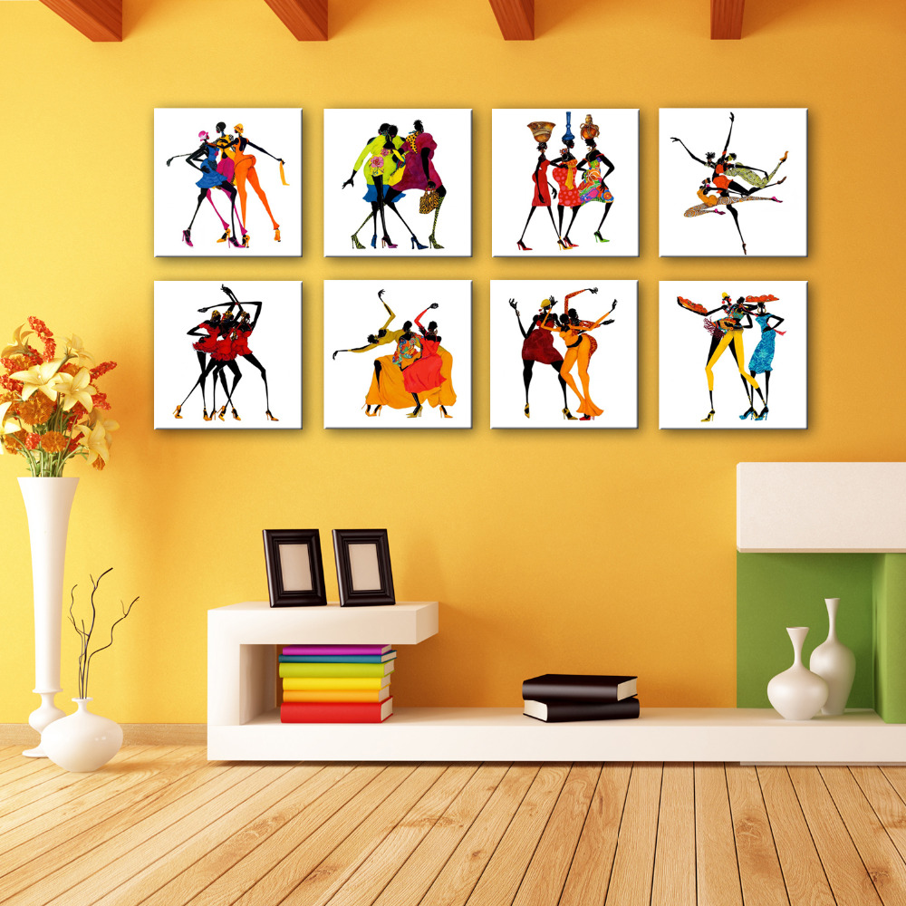 HD Cartoon Canvas Art Print Painting Poster, Print Wall Pictures For ...