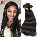 7A Unprocess Brazilian Virgin Hair Straight 3 Bundles Annabelle Hair Straight Human Hair Weave Bundles Tissage Bresilienne Hair