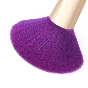 Image 4 - Jessup Brushes 15pcs Purple/Darkviolet Makeup Brushes Set Powder Foundation Eyeshadow Eyeliner Lip Contour Concealer Smudge