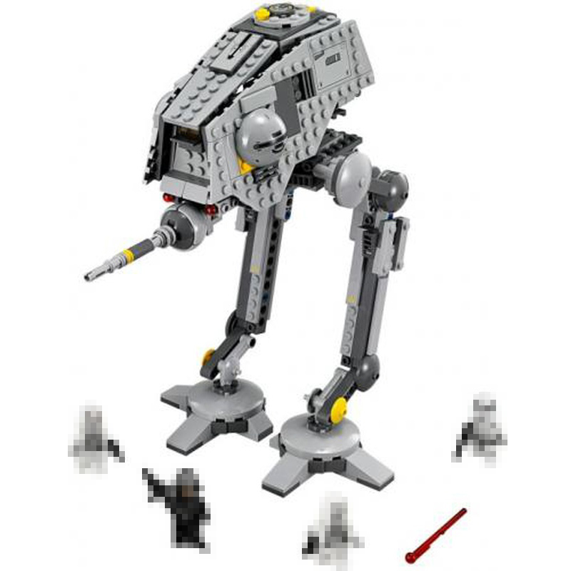 Lepin 05066 464Pcs Genuine Star Wars Series The Rogue One AT set ST Walker Educational Building Blocks Bricks 75153 Toys Gifts конструктор lepin star plan разведывательный транспортный шагоход at st 458 дет 05066