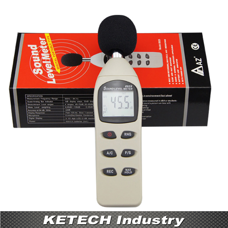 AZ-8925 Digital Noise Meter Sound Level Meter Precision Decibel Meter колготки omsa top 100 цвет nero черный 321om размер 3 42 44