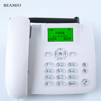GSM 850 900 1800 1900MHz Fixed Wireless Telephone With FM Support Speed Dial Wireless Telephone Cordless