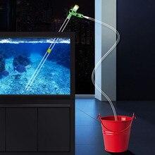 Насос для аквариума, фильтр для сифона, фильтр для всасывания гравия, фильтр для аквариума, вакуумный насос для замены воды, инструмент для очистки аквариума