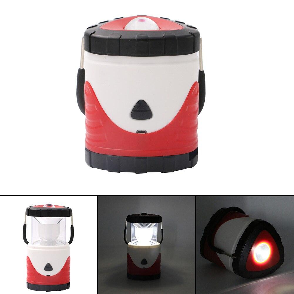 Multifunction LED lantern light USB flashlight Portable light searchlight Camping lamp outdoor Hanging lantern Old man