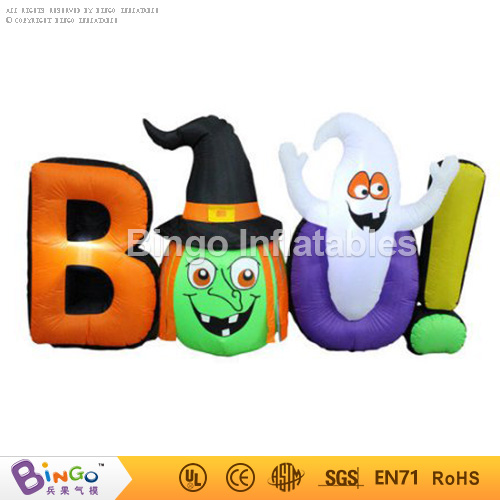 BAO! halloween inflatable letter,inflatable witch head for halloween decoration Bingo inflatablesBG-A1127 toy plastic standing human skeleton life size for horror hunted house halloween decoration