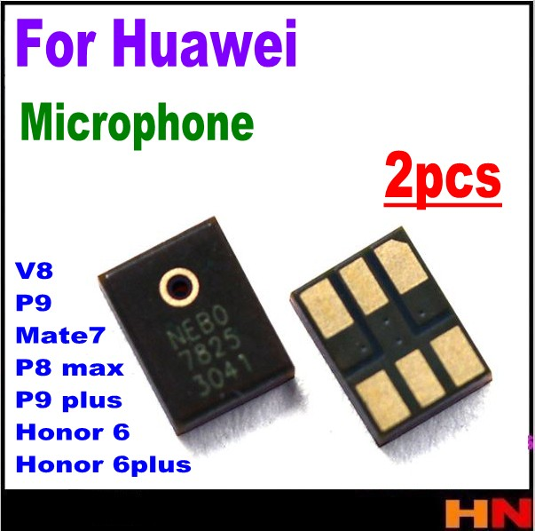 2pcs New Microphone Internal MIC Speaker For Huawei Mate 7 P8 Max Honor 6 6plus V8 P9 Plus Replacement Parts