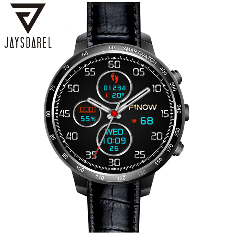 JAYSDAREL Q7 Android 5.1 OS Smart Watch Phone Heart Rate GPS WIFI Camera 3G SIM Card Pedometer Smart Wristwatch for Android iOS smart phone watch 3g 2g wifi zeblaze blitz camera browser heart rate monitoring android 5 1 smart watch gps camera sim card