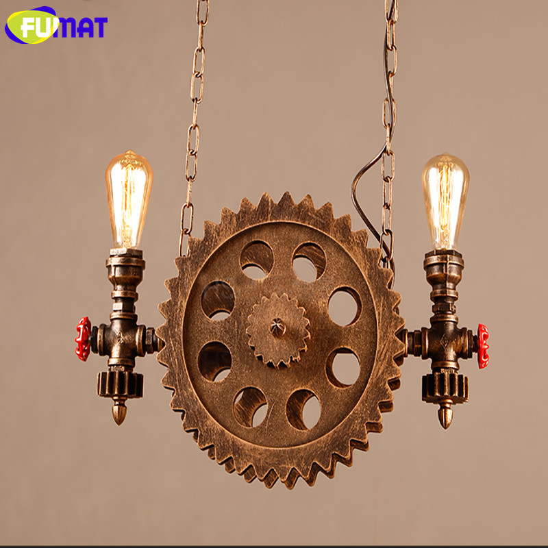 Gear Pendant Light 16