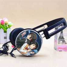 Wholesale Your Name Miyamizu Mitsuha Tachibana Taki Anime Headphone Adjustable Sport Headphones Gaming Headset Stereo