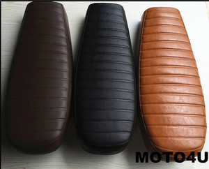 MOTO4U HUMP MASH CAFE RACER SEAT RETRO LOCOMOTIVE CUSHION SIMA MOTOCYCLE SADDLE
