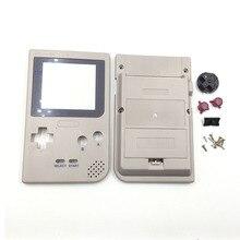Z tworzywa sztucznego szary obudowa do Gameboy kieszeń na DMG 01 edycja obudowa Case dla Game Boy GBP