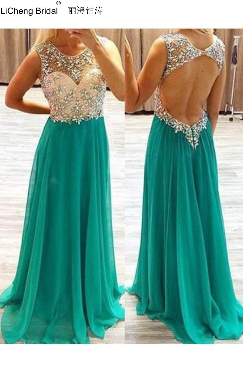 Popular Beautiful Green Prom Dresses-Buy Cheap Beautiful Green ...