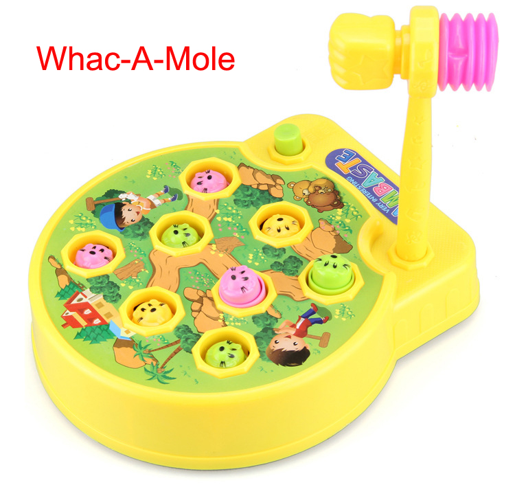 Electric Whack A Mole Interactive Kids Toys Preschool Toddler Toys Poke A Mole Electronic Plastic Toys Xmas Birthday Gift