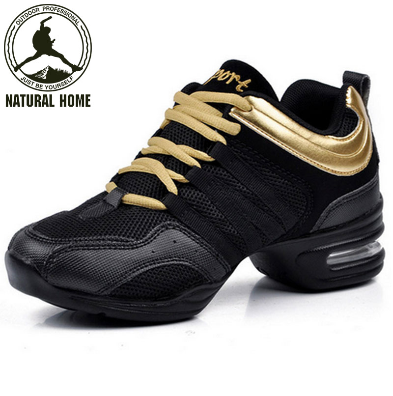 NaturalHome Brand 2016 Dancing font b Shoes b font for Women Jazz Sneaker New Salsa