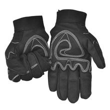 Free transport Microfiber leather-based anti-shocked quakeproof defending security glove 26cm bolstered palm and adhesive straps cuffs