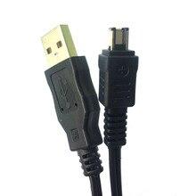 USB адаптер питания зарядный кабель для передачи данных для камеры Canon CA-110 камеры LEGRIA VIXIA mini X