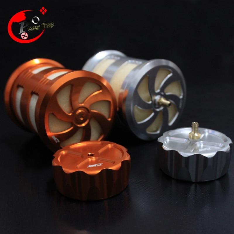 ФОТО New design Metal air filter for King Motor Baja 5B Parts T1000 T2000 RC Cars
