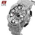 TTlife Assistir Mens Relógio de Luxo À Prova De Água Militar Chronograph Relógios De Pulso Moda Relógio relogio masculino 2016 Nova Chegada