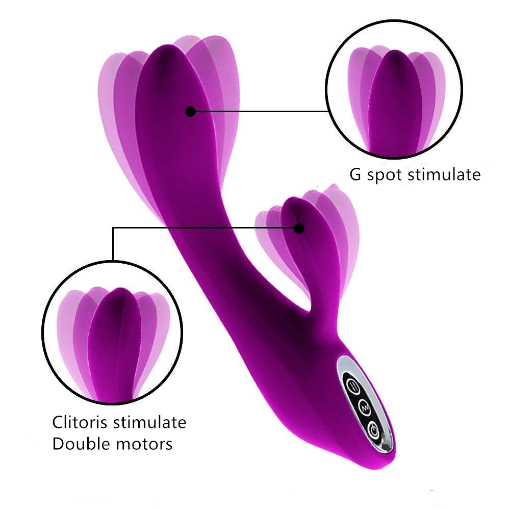 Multispeed clit licking tongue vibrator