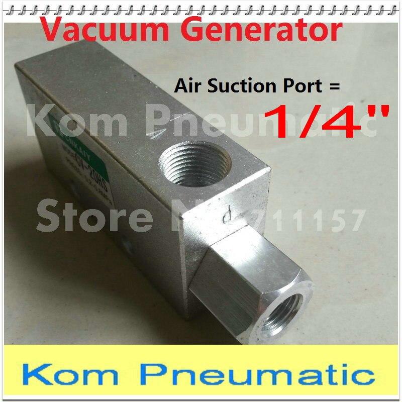 5pcs lot Free Shipping SMC Type 1 4 Vacuum Generator 1 5mm Nozzle CV 15HS Vacuum
