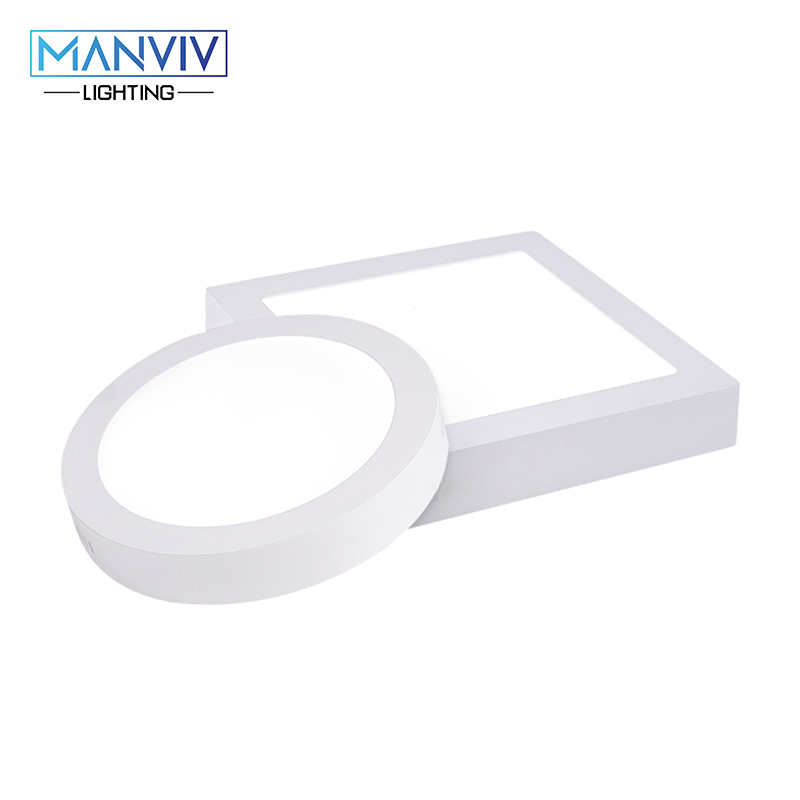 Led Down Light 6W 12W 18W 230V LED Round Square Panel Light Surface Mounted Ceiling Down Lamp Cold White Warm White 12w 3500k 1050 lumen 12 led warm white light ceiling down lamp ac 100 245v