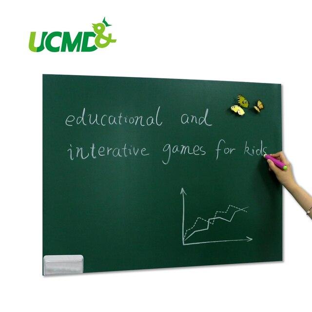 US $31.99 |Magneet Krijt board Lakens 80x50 cm met zelfklevende krijtbord kan Houden Magneten voor Kinderen Tekenen in Magneet Krijt board Lakens