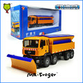 Mr.Froger Winter Service Vehicle Model alloy car model Refined metal Engineering Construction vehicles truck Decoration Toys