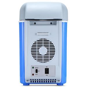 Image 3 - 12v 7.5Lミニポータブルカー冷蔵庫冷凍庫多機能クーラーウォーマー熱電電気冷蔵庫自動コンプレッサー