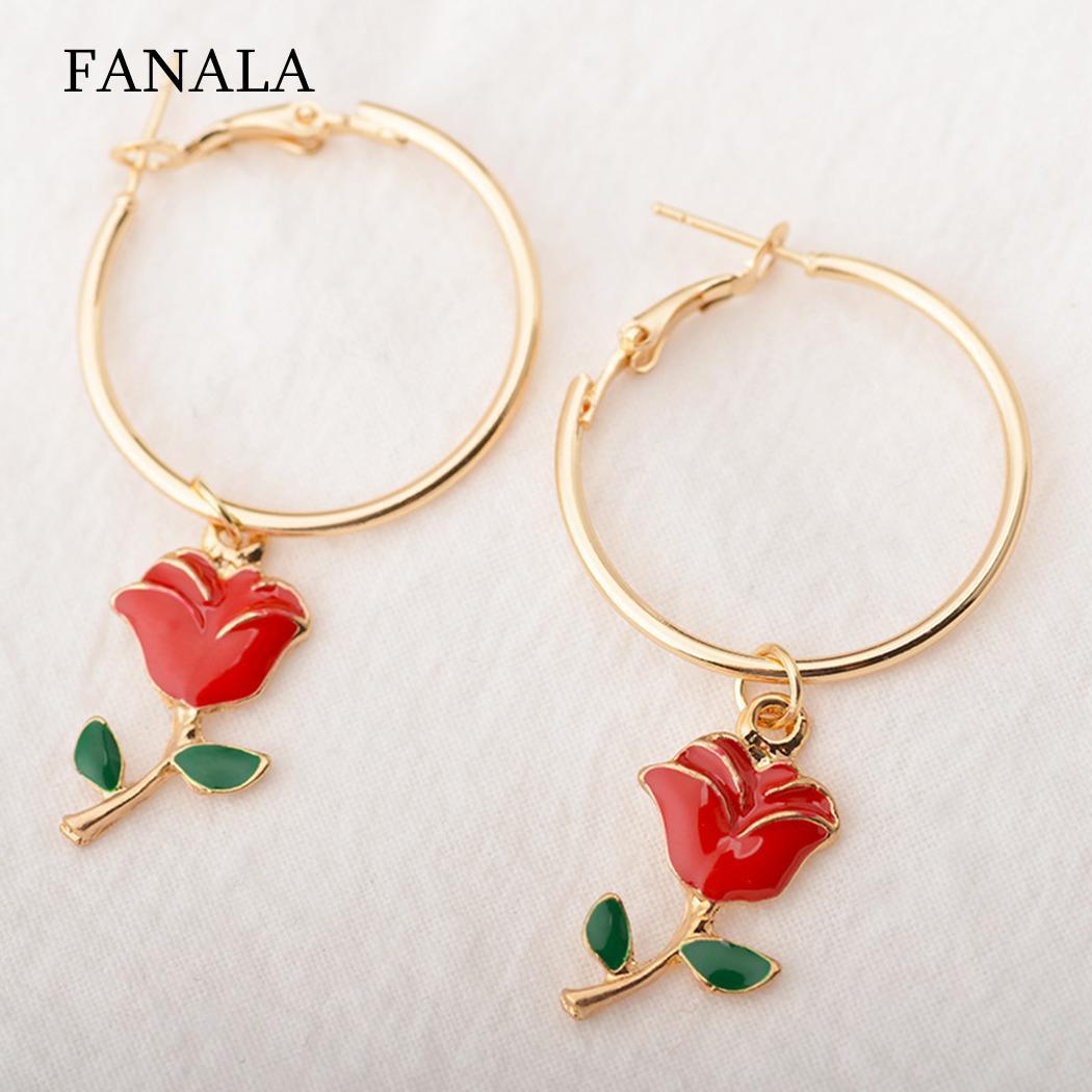 GOLDEN FLOWER OF LIFE CIRCLE HOOPS  CLIP ON EARRINGS or HOOKS