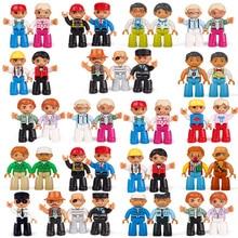 2018 Novos Estilos de 28 Duploed Figuras de Ação Building Blocks Brinquedos Educativos Tijolos Compatível com Legoingly Para Presentes Do Bebê