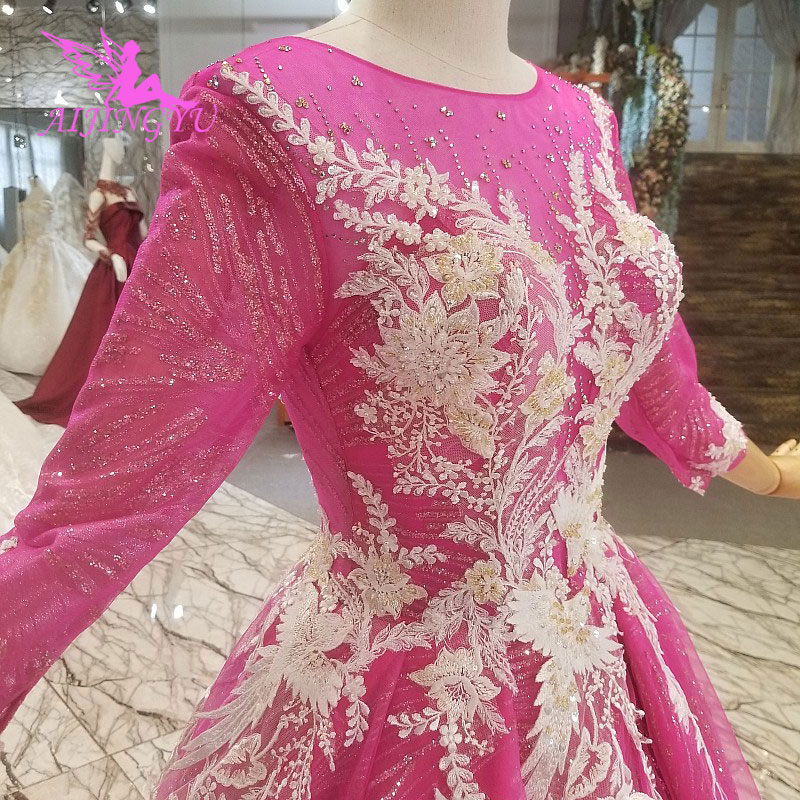 Plus Size Wedding Dresses With Color: AIJINGYU Victorian Wedding Dresses Plus Size Bridal Gowns