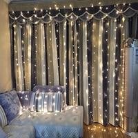 3M X 3M 300 LED Wedding String Light Christmas Light LED String Fairy Light Bulb Garland