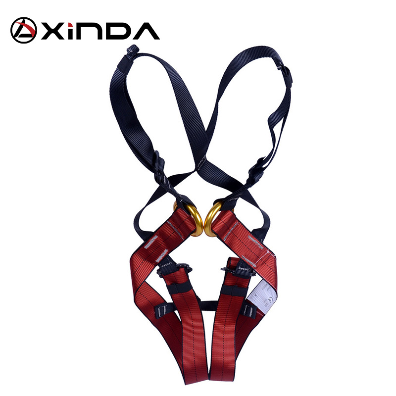 XINDA Kid's Safety Belt Child Full Body Harness Rock Climbing Children Safety Protection Kid Harness Outdoor Equipment Kits