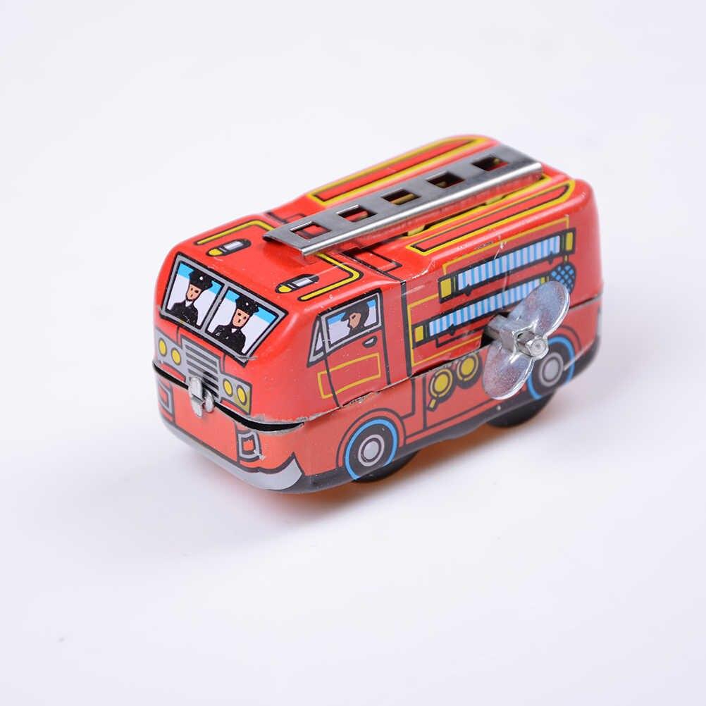 Retro Steam dla dzieci prezenty dla dzieci pociąg wiosna lokomotywa klasyczny zabawki dla dzieci w stylu Vintage skończyć blaszana zabawka wspomnienie około 7.5*5.5*4 cm