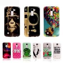 Para lg k8 telefone caso moda tpu capa para lg k8 k350n/PHOENIX 2 K371/Fuga 3 K373 Casos de Silicone Saco Do Telefone Móvel de Plástico
