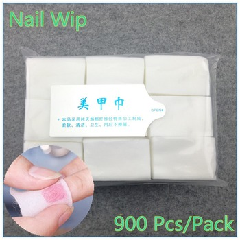 ZKO 1 Pack Professional Lint Free Nail Wipes Soft Cotton Nail Wipe Polish Remover