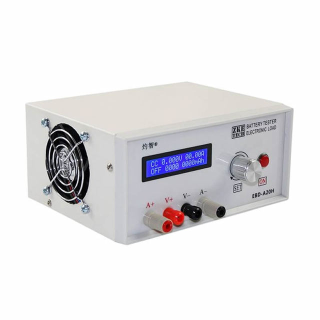 EBD A20H Capacità Della Batteria Tester Elettronico di Potenza del Carico di Scarica Tester Meter 20A
