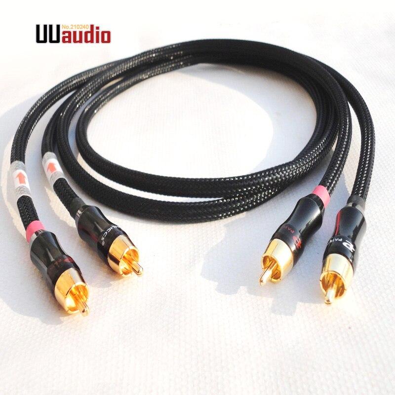 England HIFI Pure Copper Wire Audio RCA XLR Interconnect AUX Cable