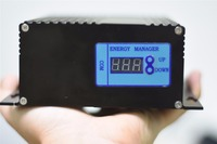 800W wind +200W/400W/600W/800W/1000W solar 24V boost mppt hybrid controller with optional 232 communication