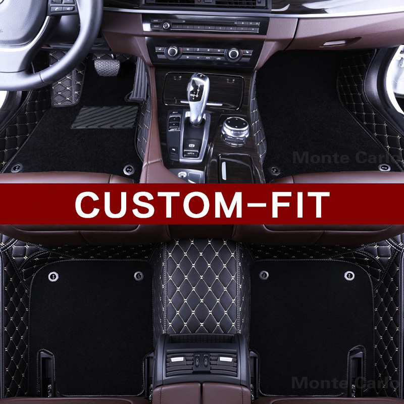 US $168 0 40% OFF|Customized car floor mats for Bentley Continental GT GTC  Flying Spur Mulsanne Bentley Bentaiga luxury car styling carpet liners-in